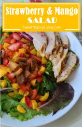 Strawberry and Mango Salad
