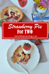 Strawberry Pie For Two