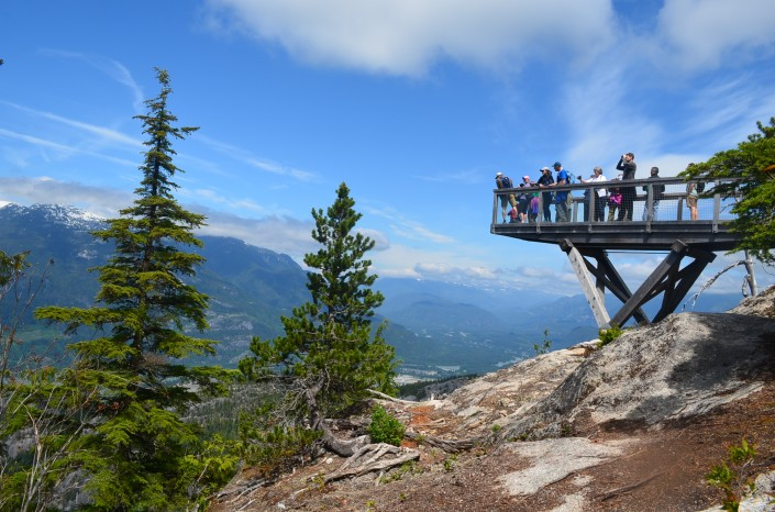 The Chief Overlook Viewing Platform