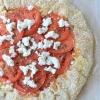 Vegetarian Feta and Tomato Pizza Pie