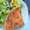 Asparagus Musroom and Gaot Cheese Quiche Recipe