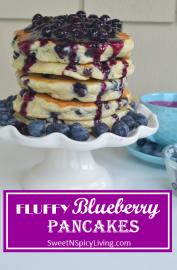 Blueberry Pancake 1