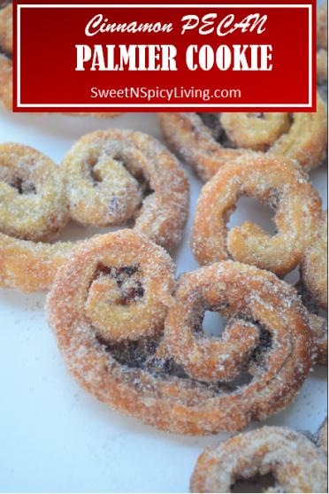 Cinnamon Palmier Cookie