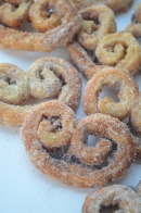 Cinnamon Pecan Palmier Cookie