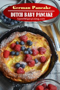 Dutch Baby Pancake