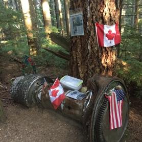 Grouse Mountain Sky Line Crash Site