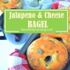Jalapeno and CheeseBagel