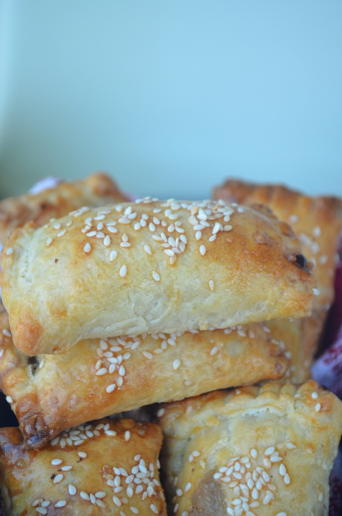 Mushroom and Cheese Turnover