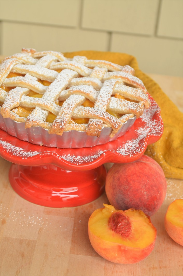 Peach and Mango Pie By SweetNSpicyLiving