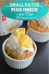 Peach Cobbler For Two 3