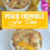 Peach Crumble for Two2