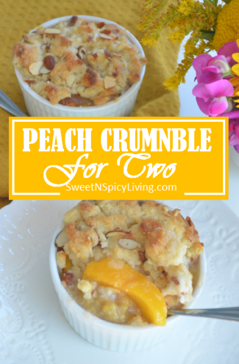 Peach Crumble for Two 2