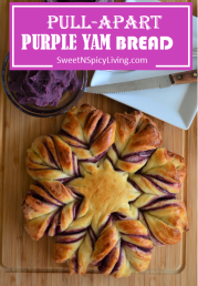 Pullapart Purple Yam Bread