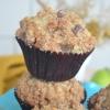 Small Batch Cinnamon Apple Streusel Muffin