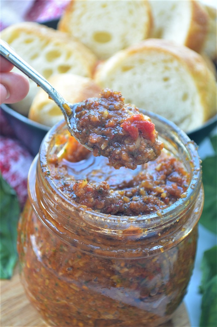 Sundried Tomato Pesto Recipe By SweetNSpicyLiving