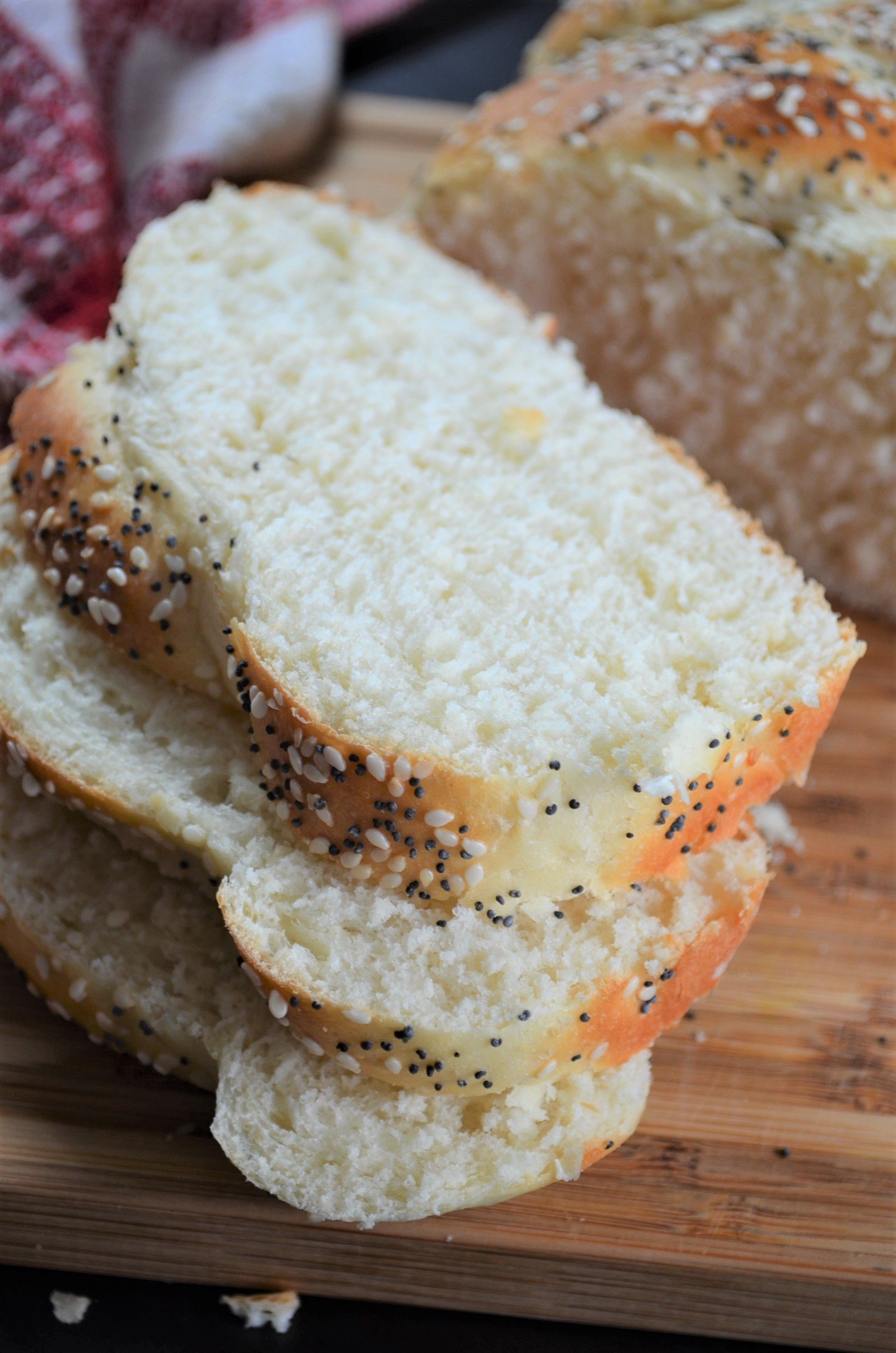 White Bread with Sesame Seed