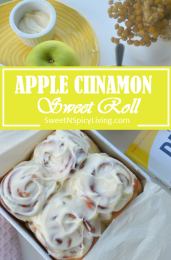 Apple Cinnamon Roll2