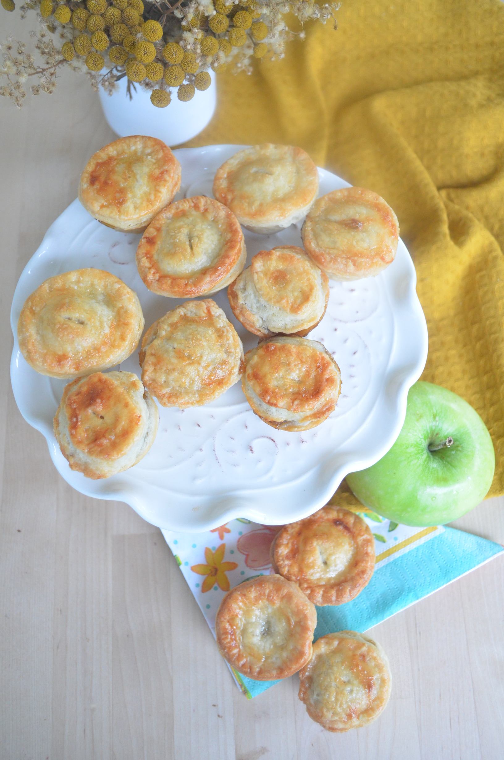 Bite Size Apple Pie recipe By SweetnSpicyliving