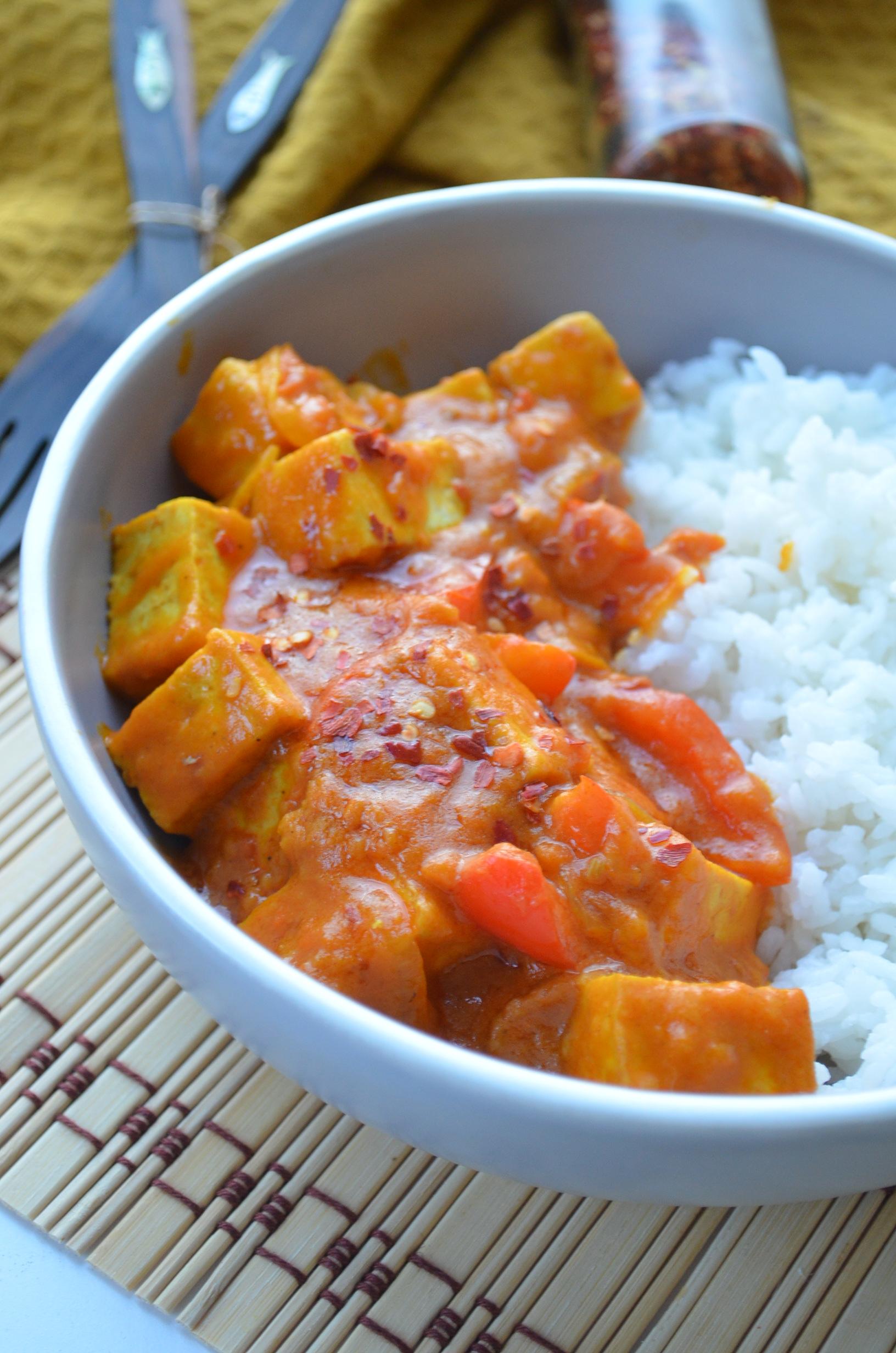 Creamy Tofu Curry