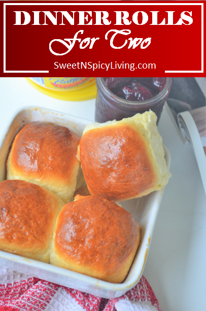 Video Small Batch Dinner Rolls For Two Makes 4