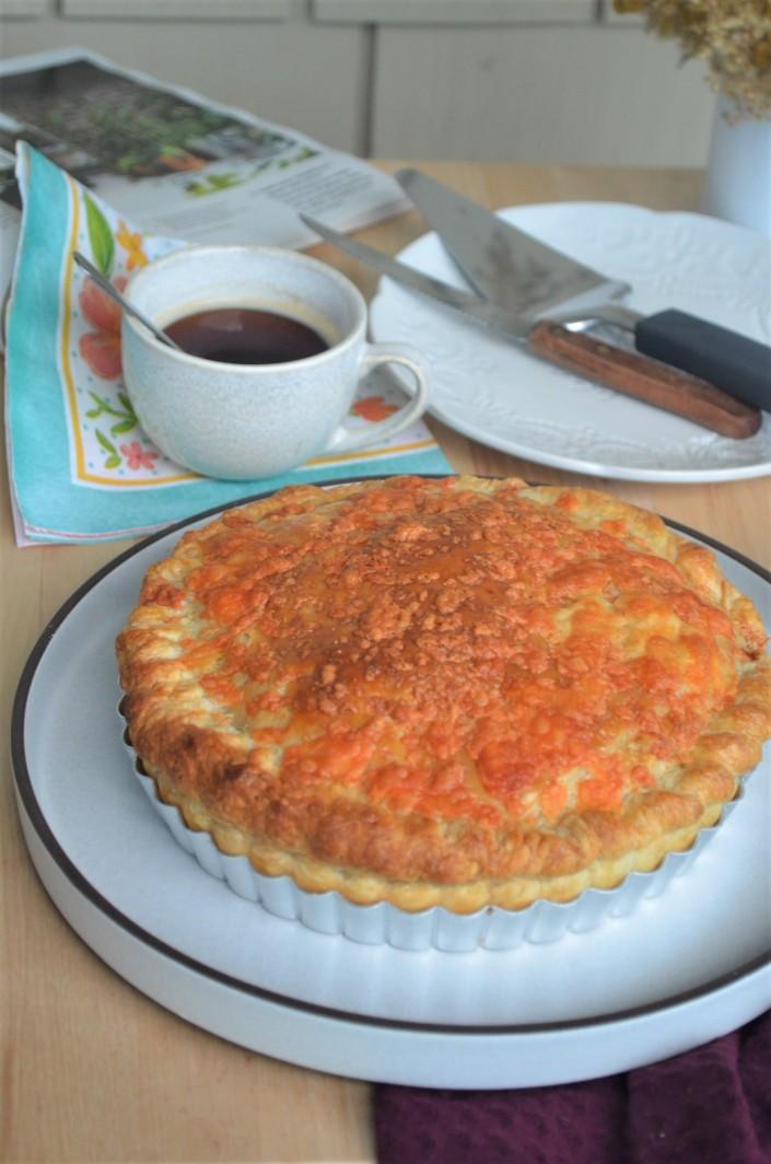 Ham Egg Puff Pastry Cheese Pie