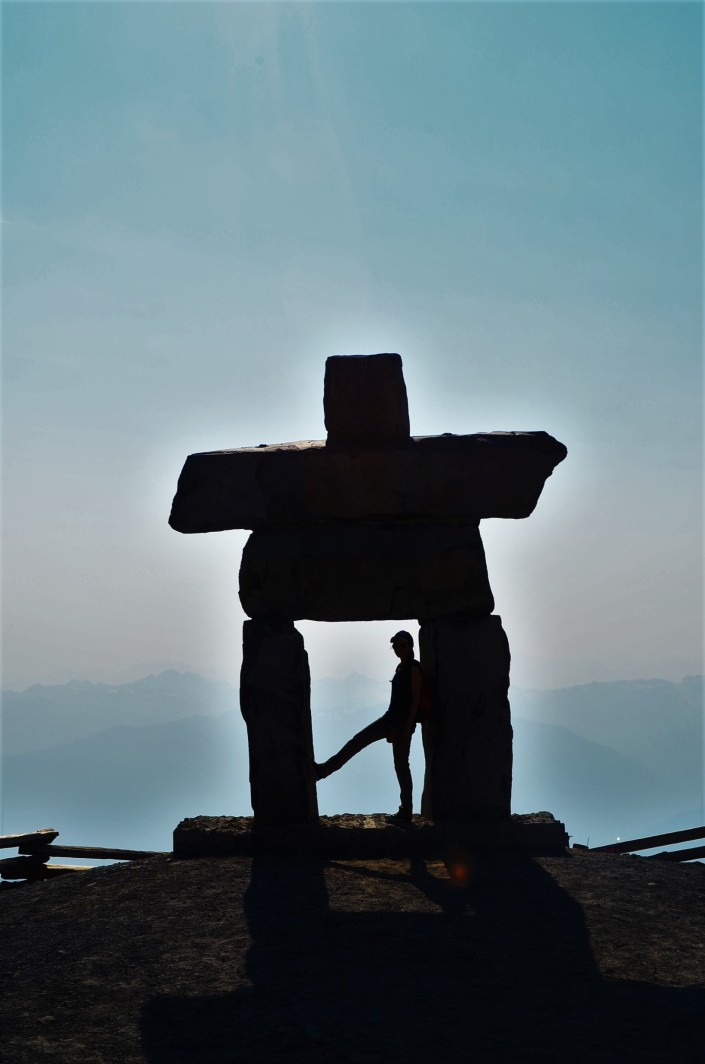 Inukshuk at Whistler Suspension