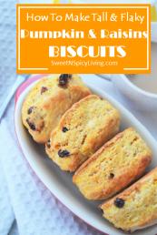 Pumpkin Raisins Biscuit 2