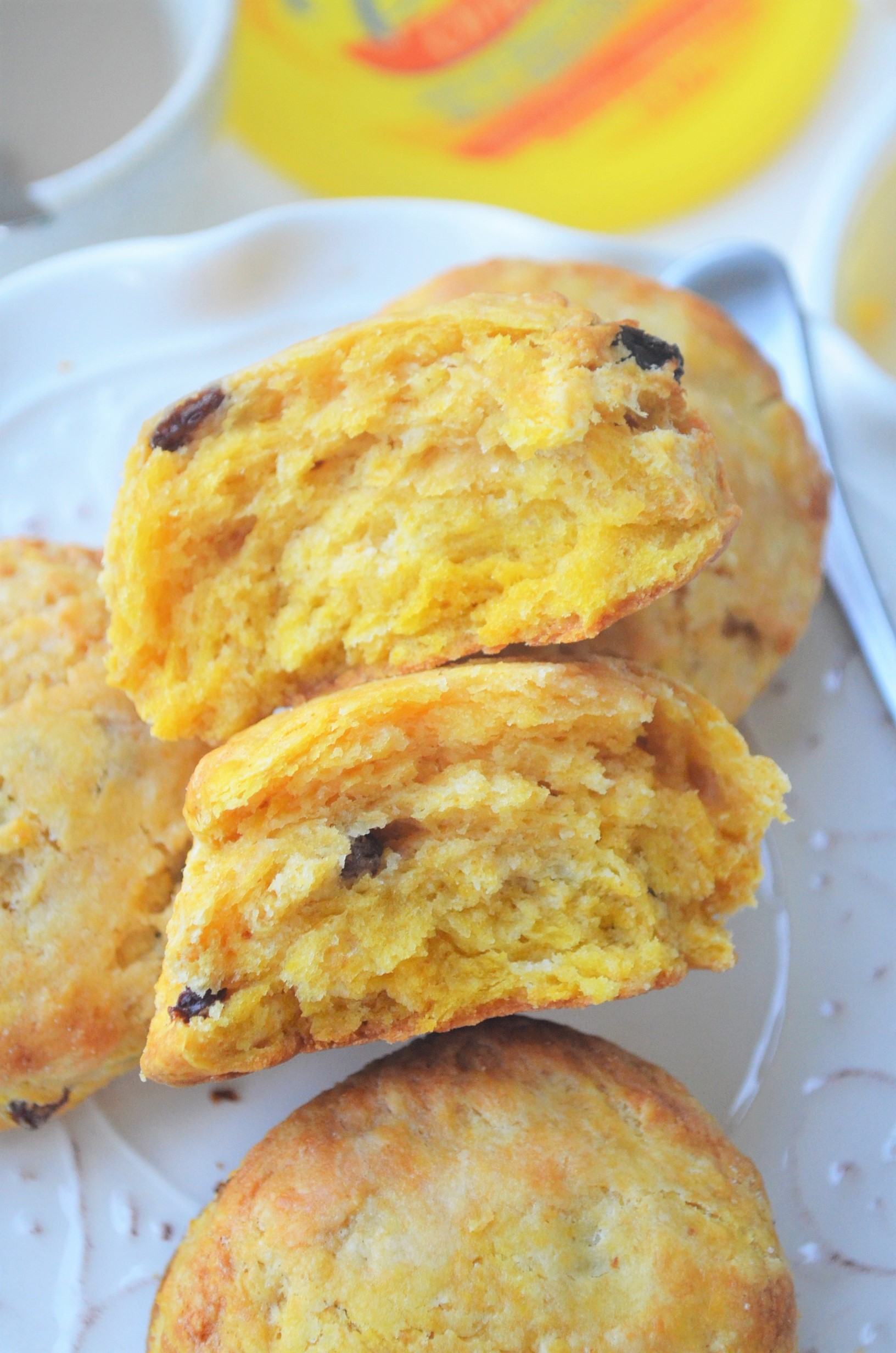 Pumpkin Raisins Biscuit