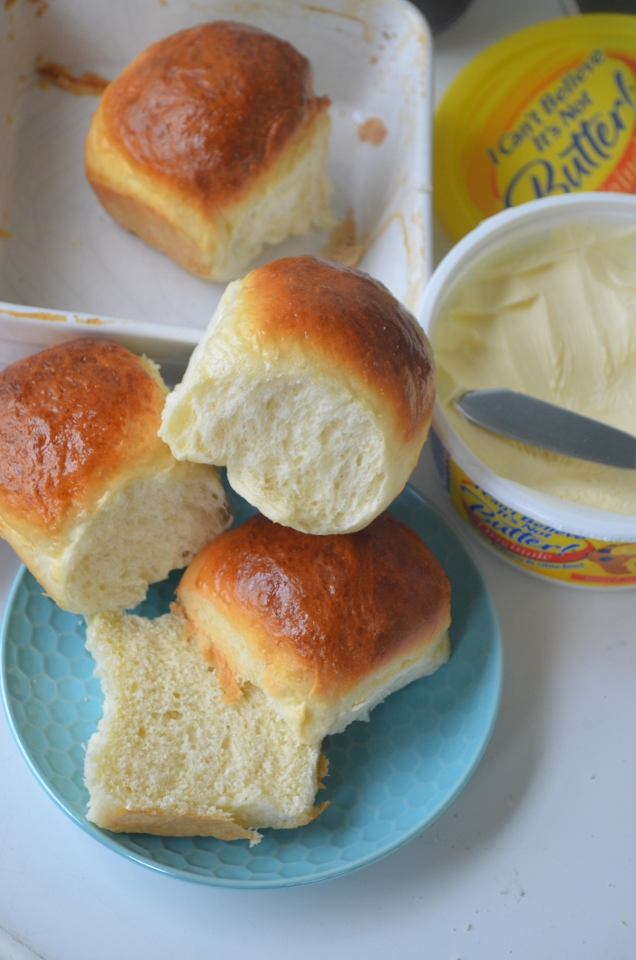 Simple Dinner Rolls Small Batch