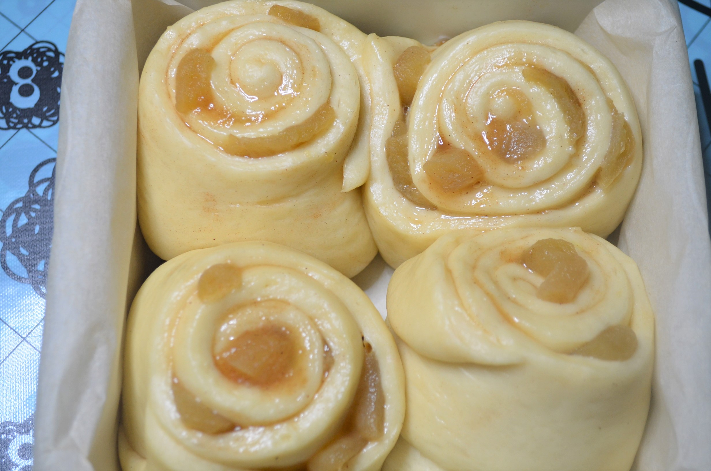 Small Batch Cinnamon Apple Roll By SweetNSpicyLiving