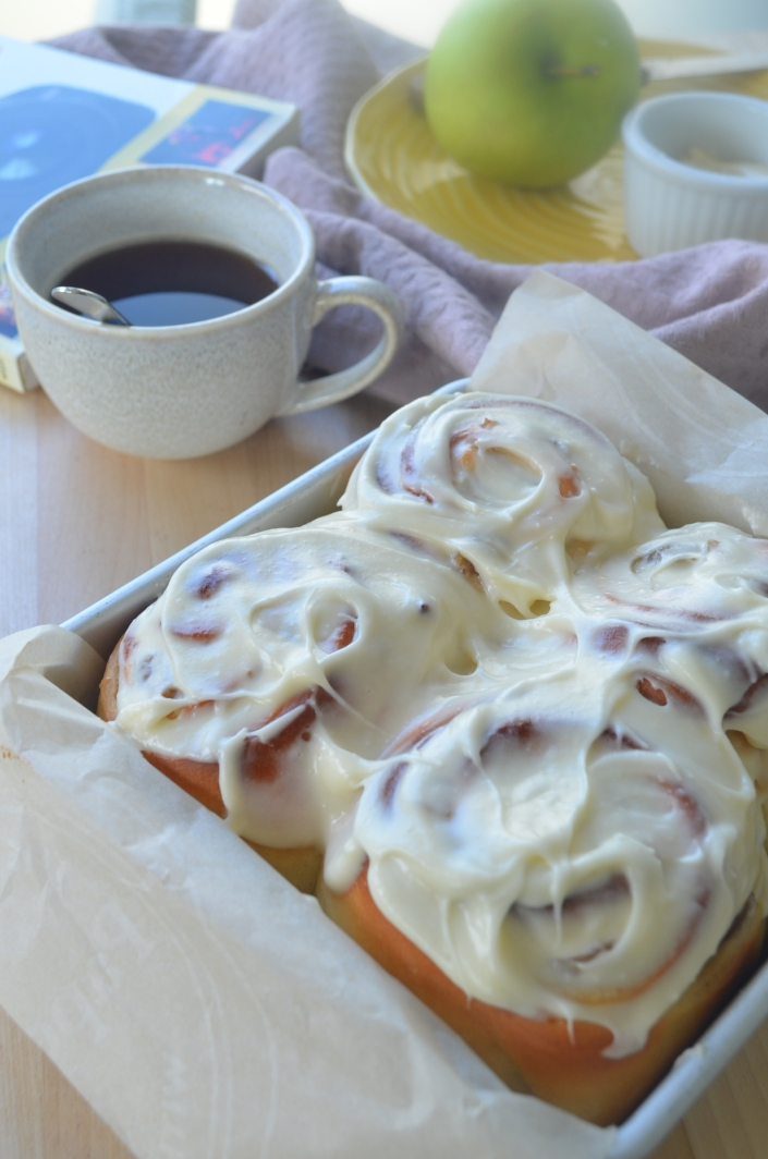 Small Batch Cinnamon Roll By SweetnSpicyLiving