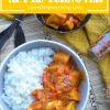 Tofu Curry in CoconutSauce