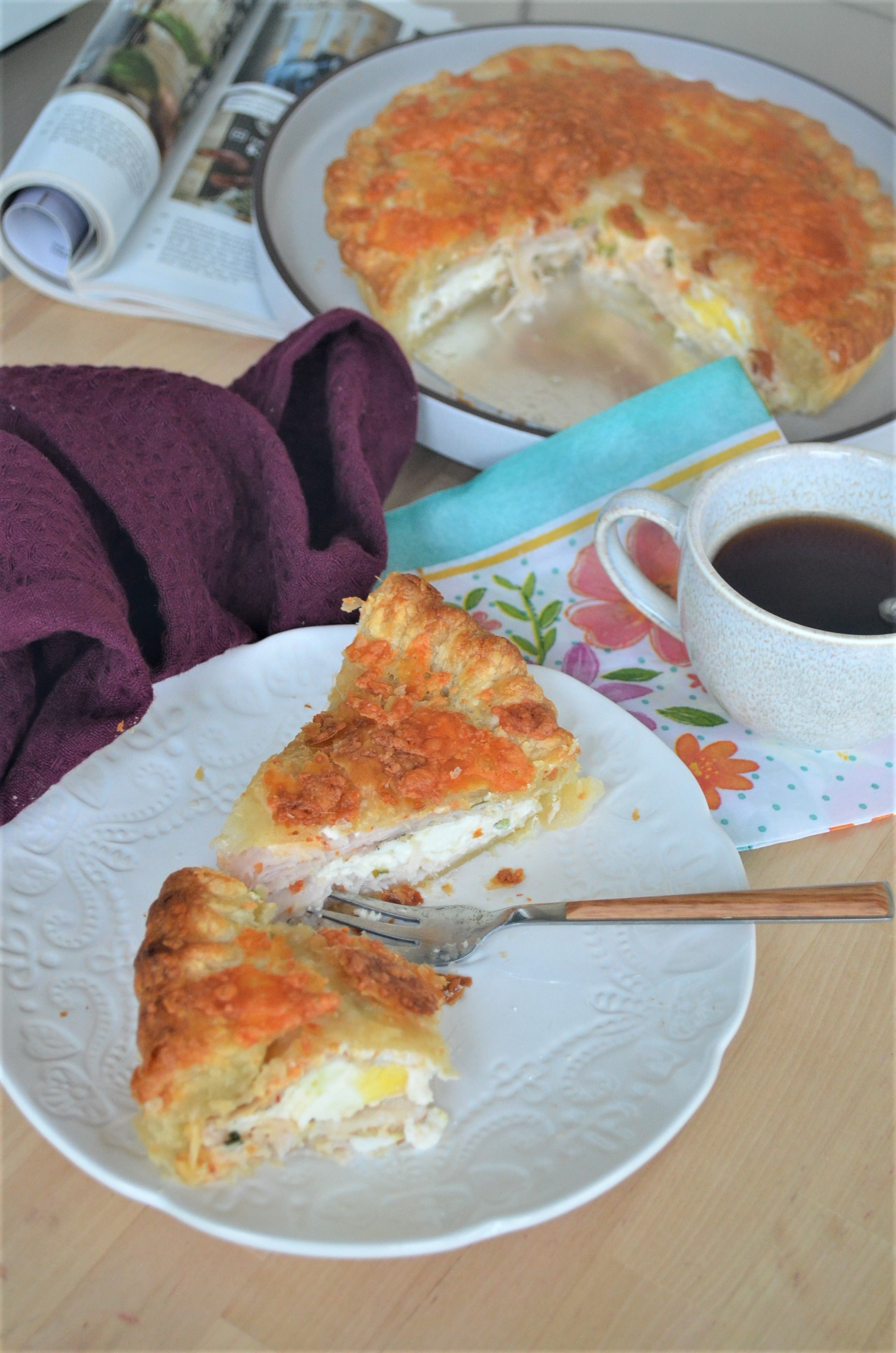 Turkey and Egg Pie