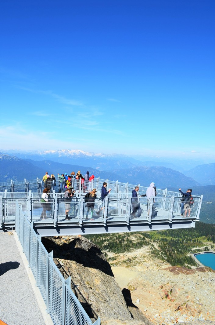Whistler Sky Pilot Suspension Brdige LookOut