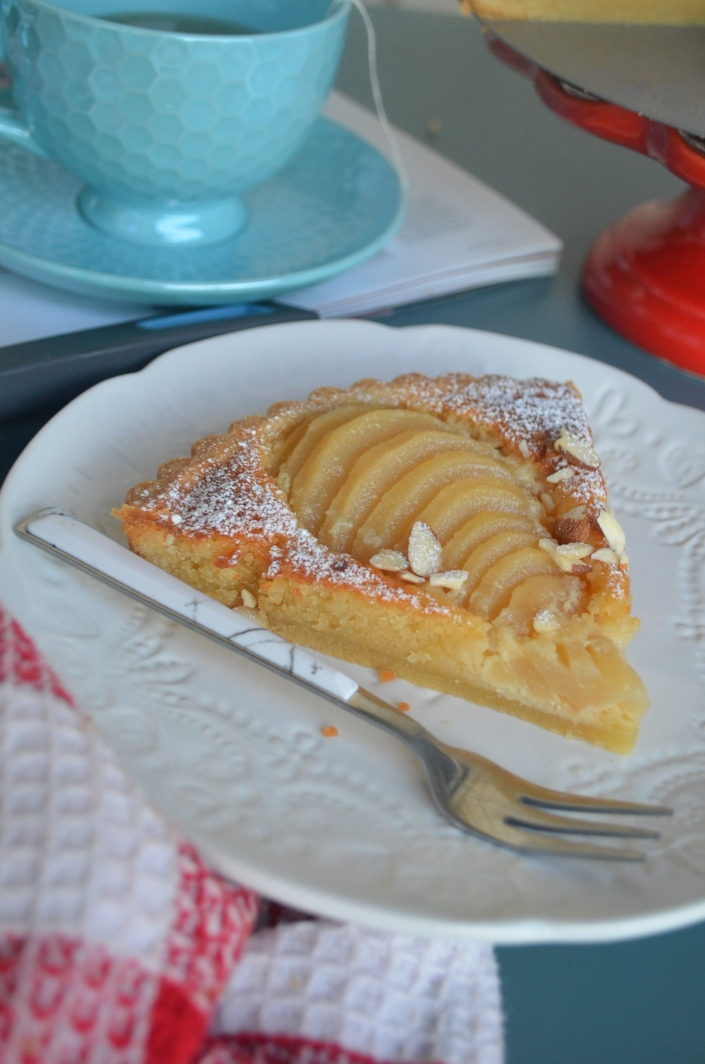 Almond Pear Tart By SweetNSpicyLiving
