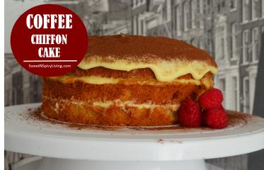 Coffee Chiffon Cake 2