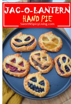 Jack O Lantern Hand Pie