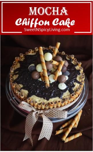 Mocha Chiffon Cake 3