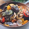 Roasted Veggie and White Beans Salad