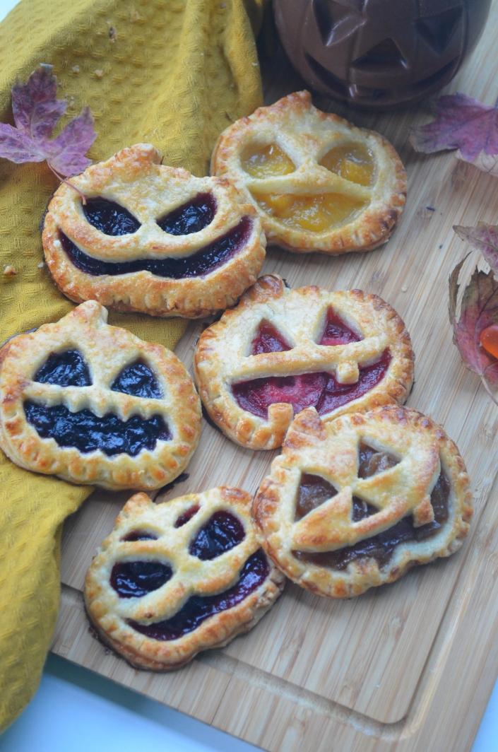 Small Batch Jack O Lantern Hand Pie