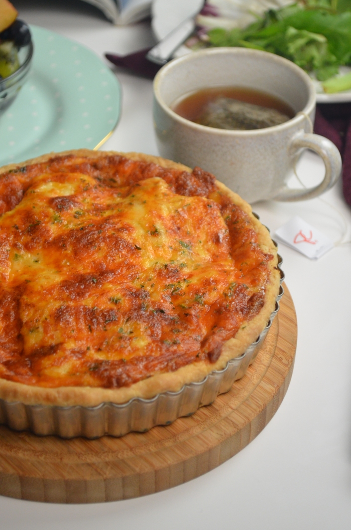 Small Batch Potato Quiche