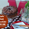 Triple Dark Chocolate Chiffon Cake