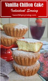 Vanilla Chiffon Cake Mamon