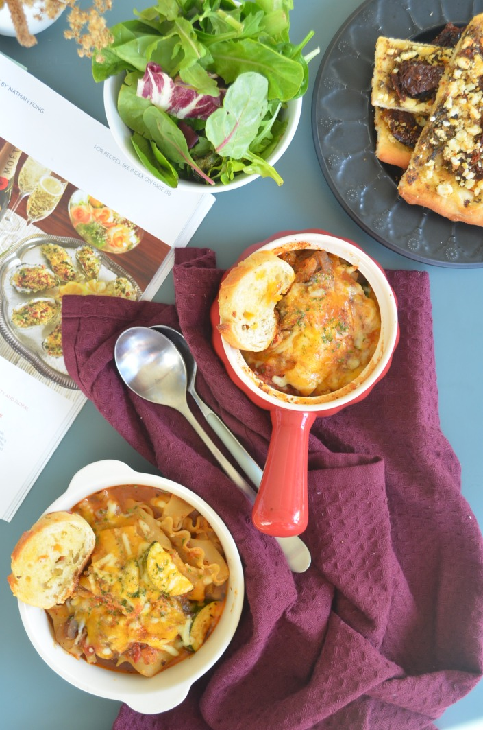 Vegetarian Lasagna Soup By SweetNSpicyLiving