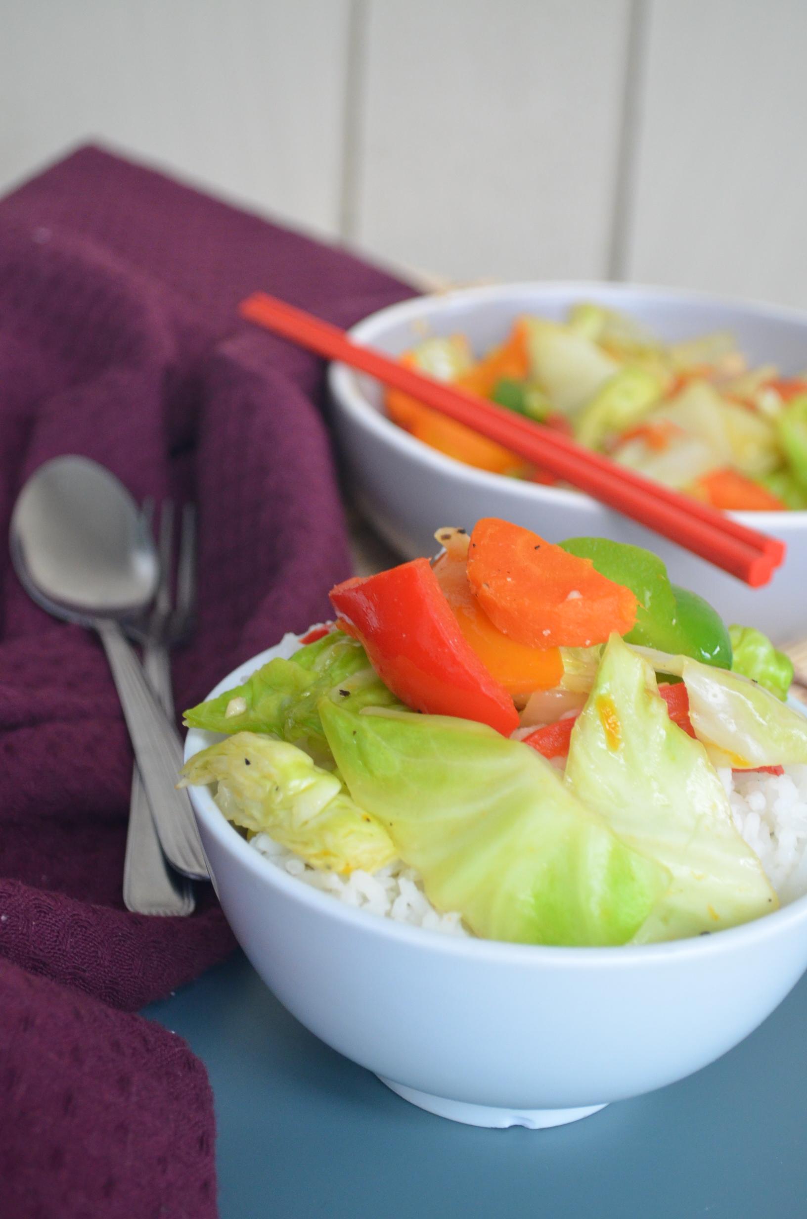 All vegetable Chopsuey