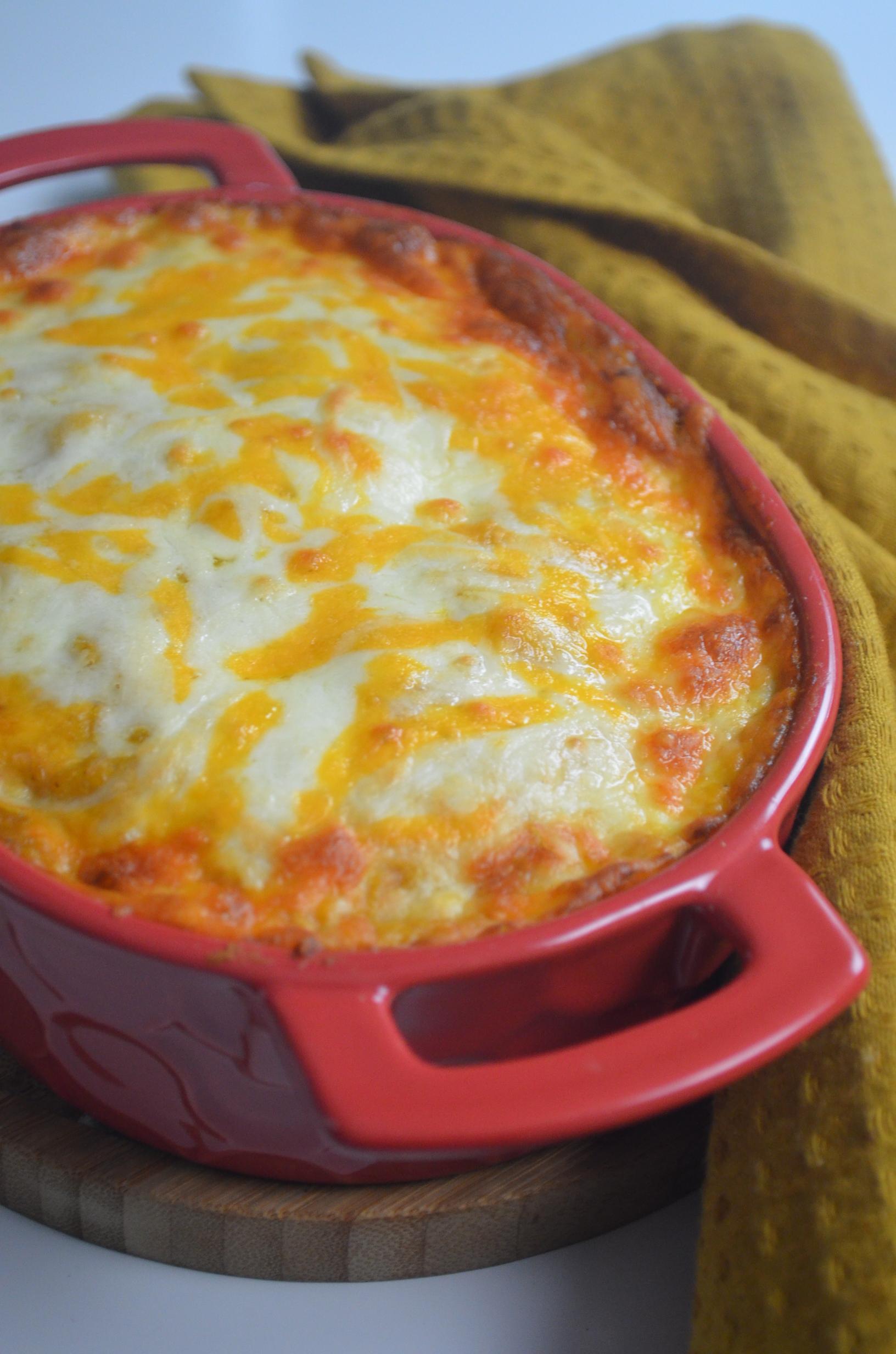 Baked Butternut Squash Pasta Carbonara