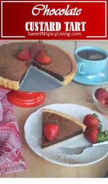 Chocolate Brownie Tart 2