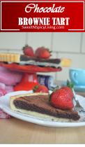 Chocolate Brownie Tart