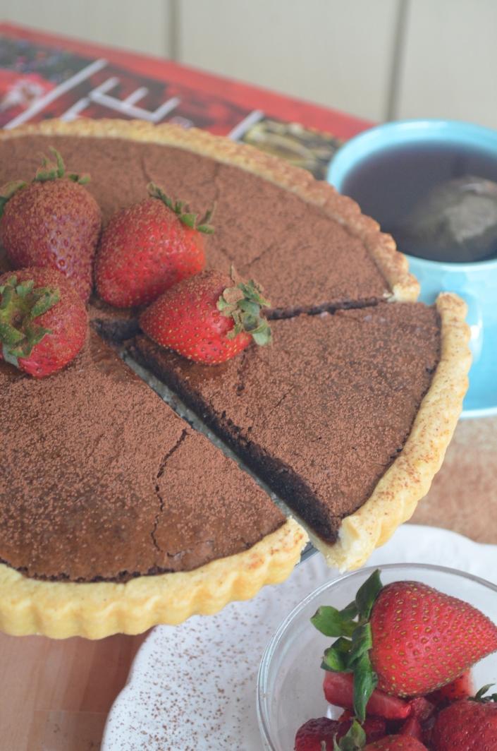 Chocolate Custard Tart
