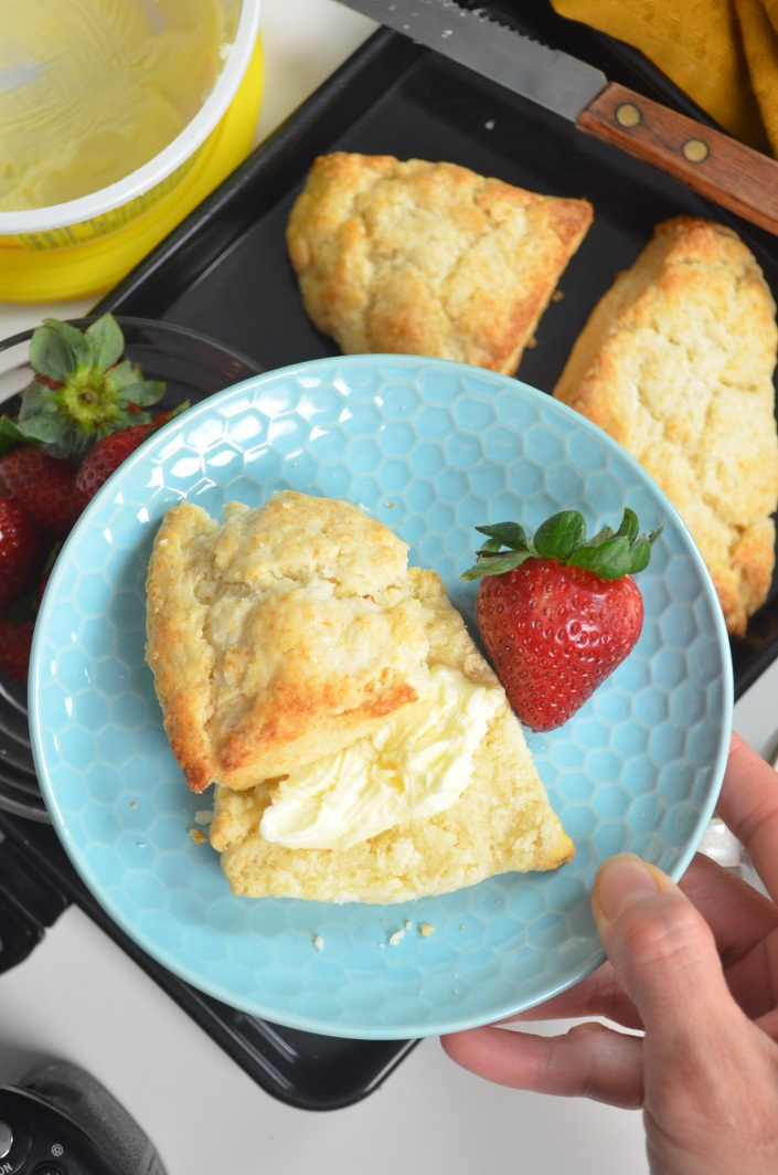 Easy Small Batch Scones